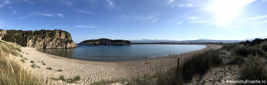 Peloponez - Voidokilia beach