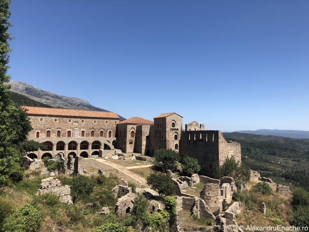 Peloponez - Mystras Despot Palace