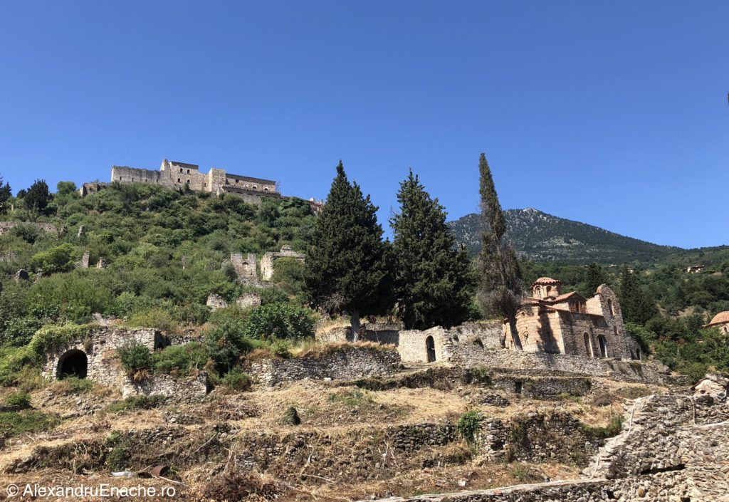 Peloponez - Mystras vedere de ansamblu