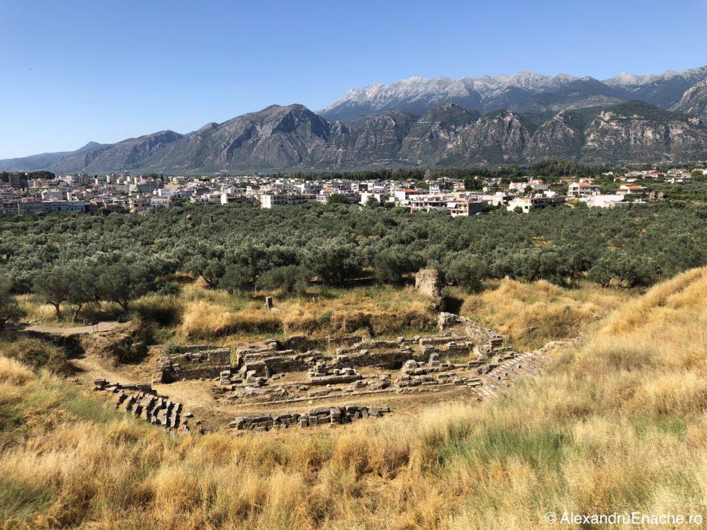 Peloponez - Sparta amfiteatru