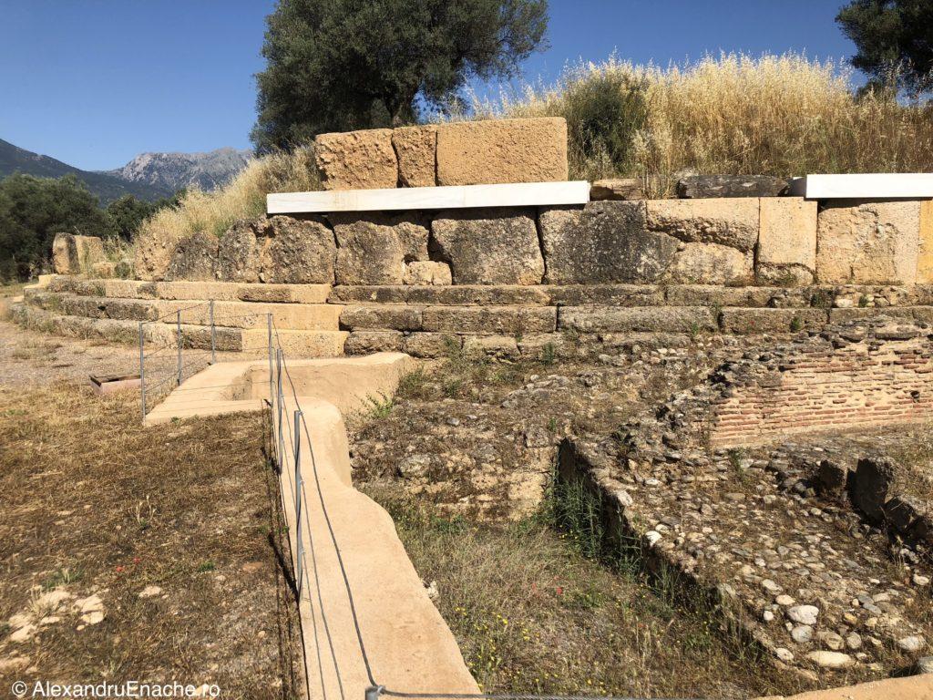 Peloponez - Sparta templu rotund