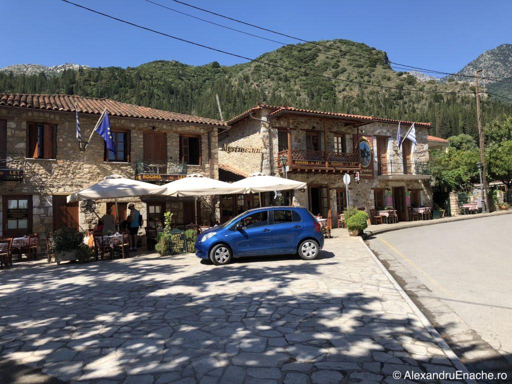 Peloponez - Mystras promenada