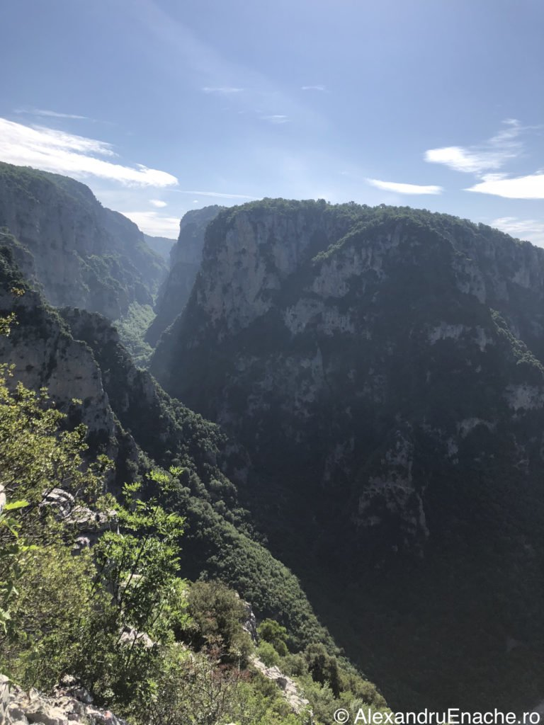Road trip cu rulota - Vikos Gorge