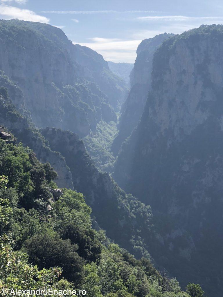 Canionul Vikos - Sf Paraschiva view