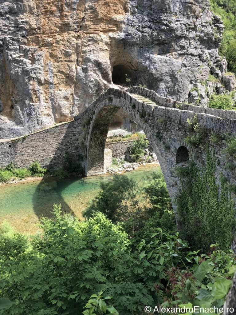 Canionul Vikos - pod 1