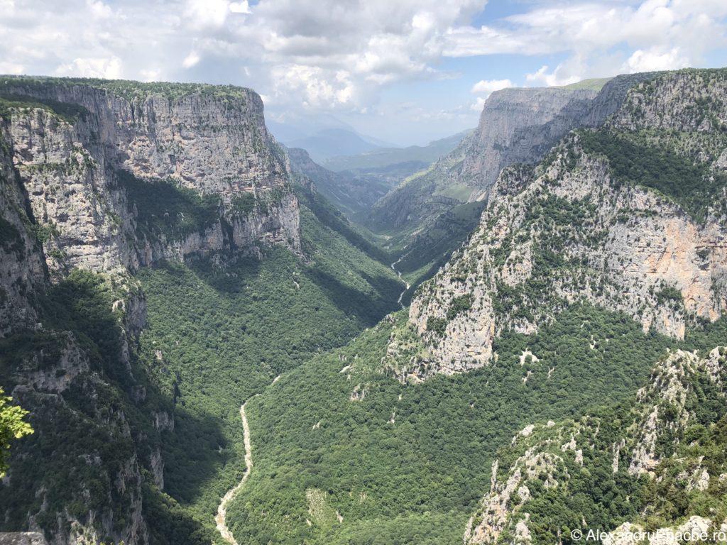 Canionul Vikos - Beloi Viewpoint