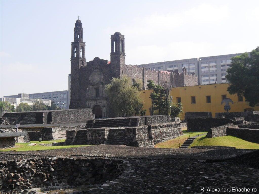 In drum spre Guadalupe -Tlatelolco