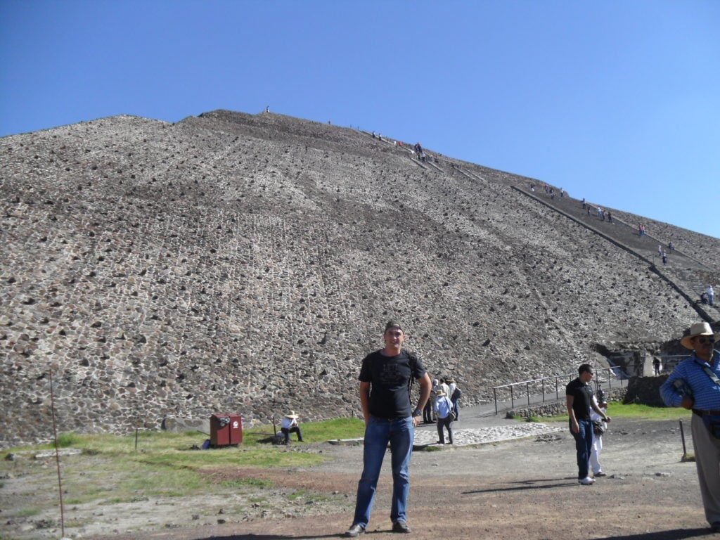 Teotihuacan - piramida soarelui