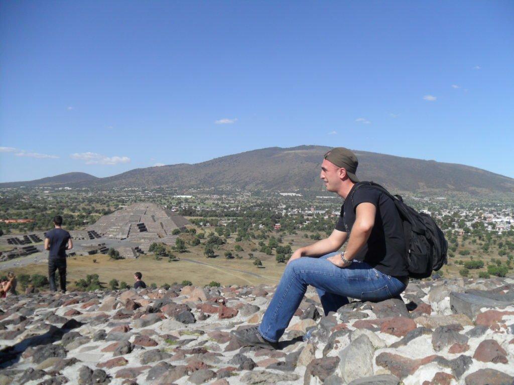 teotihuacan - in varful piramidei soarelui