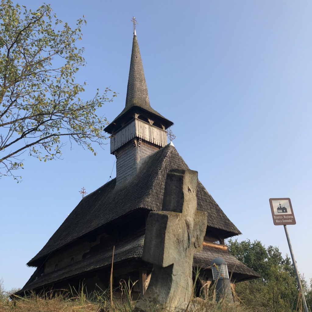 Maramures - biserica de lemn Barsana