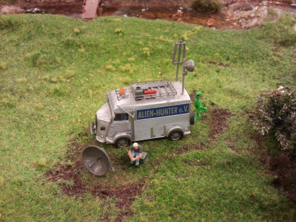 Miniatur Wunderland - alien