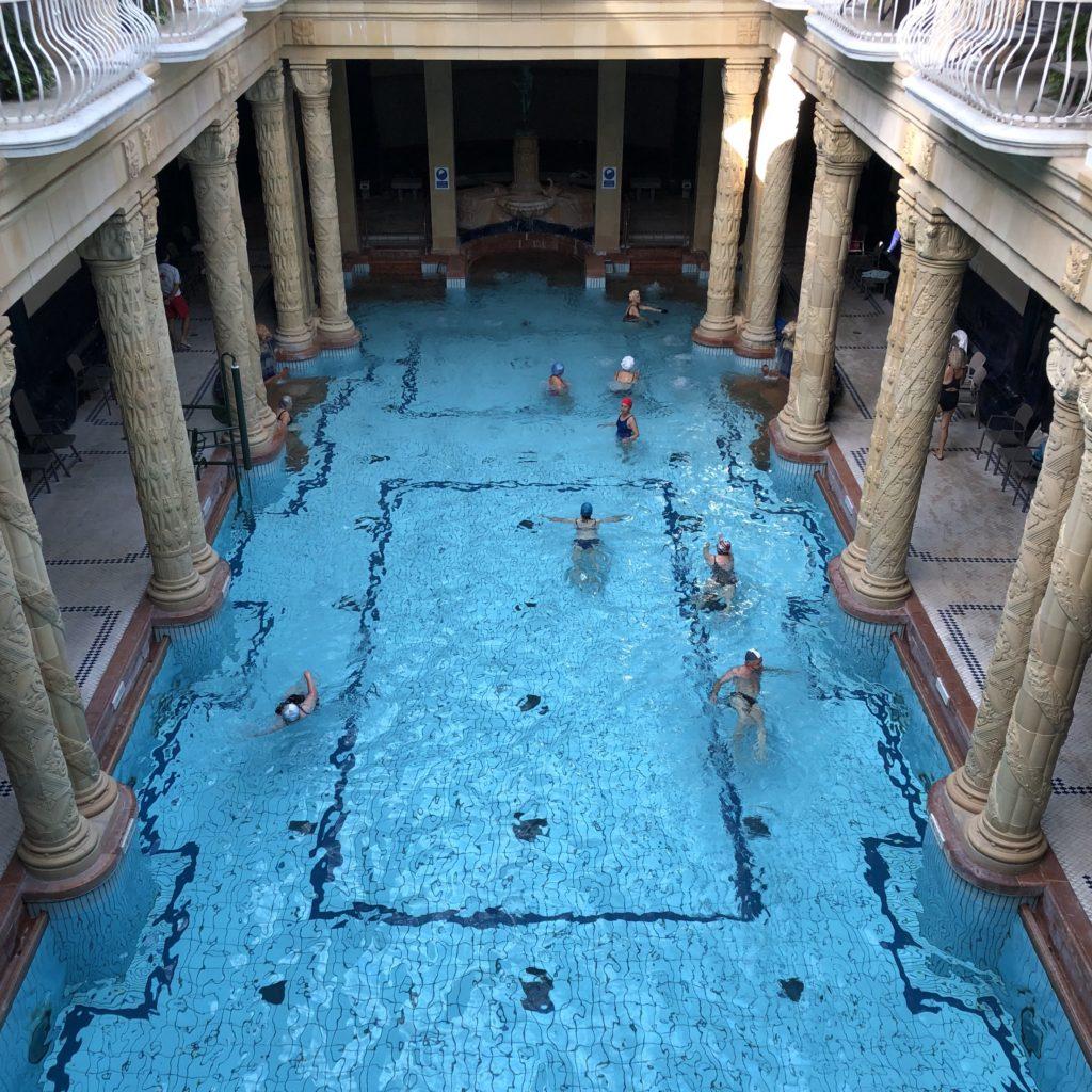 Budapesta - Hotel Gellert