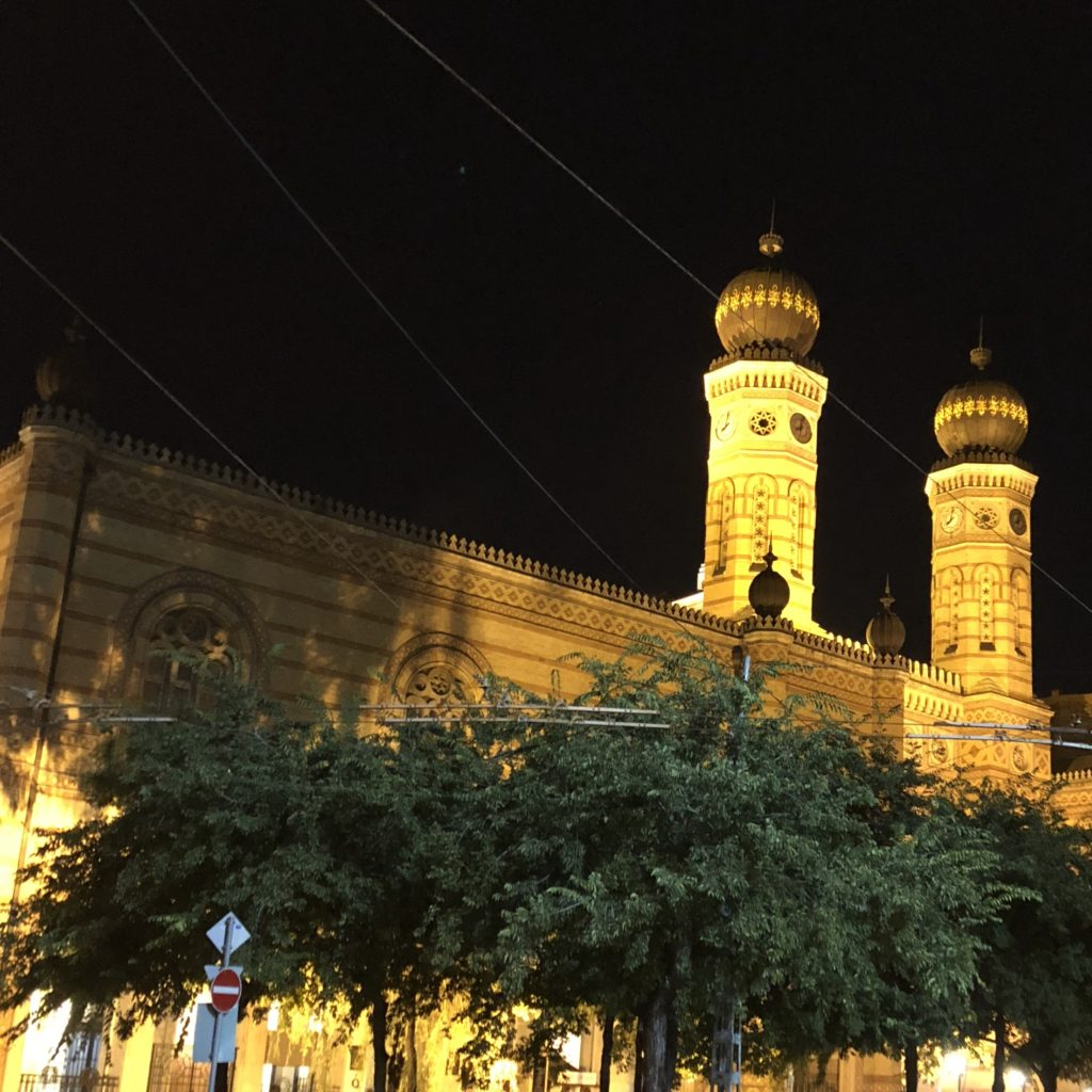 Budapesta - Sinagoga Dohany