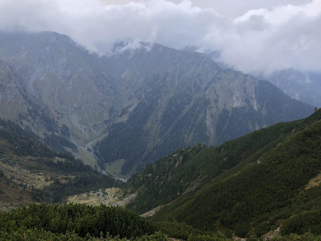 Moldoveanu - coborare
