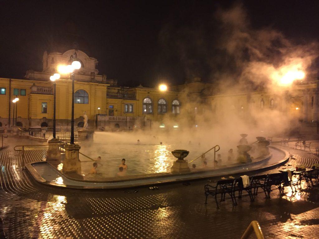 Budapesta - Szechenyi bath