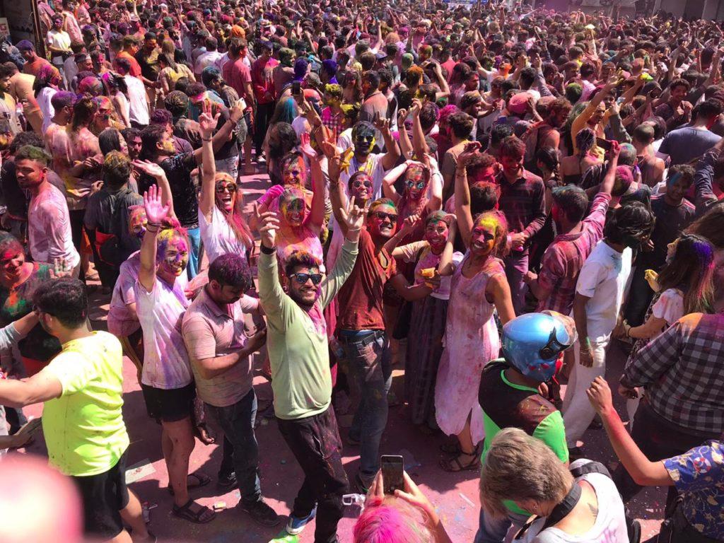 Holi Festival Rishikesh