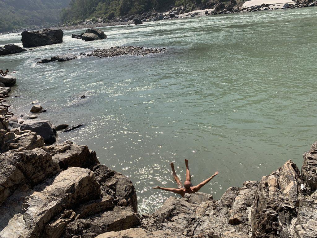 Rishikesh Baie in Gange